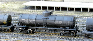 8K 6 Course Radial Tank Car (HO Scale)